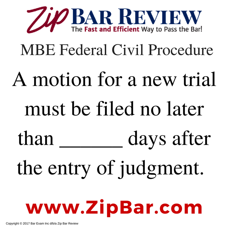 MBE & MPRE Bar Exam Products | Zip Bar Review