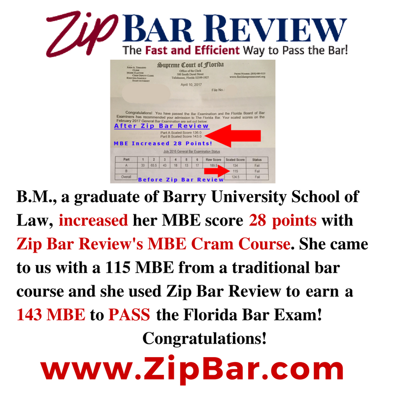 Testimonials - Zip Bar Review